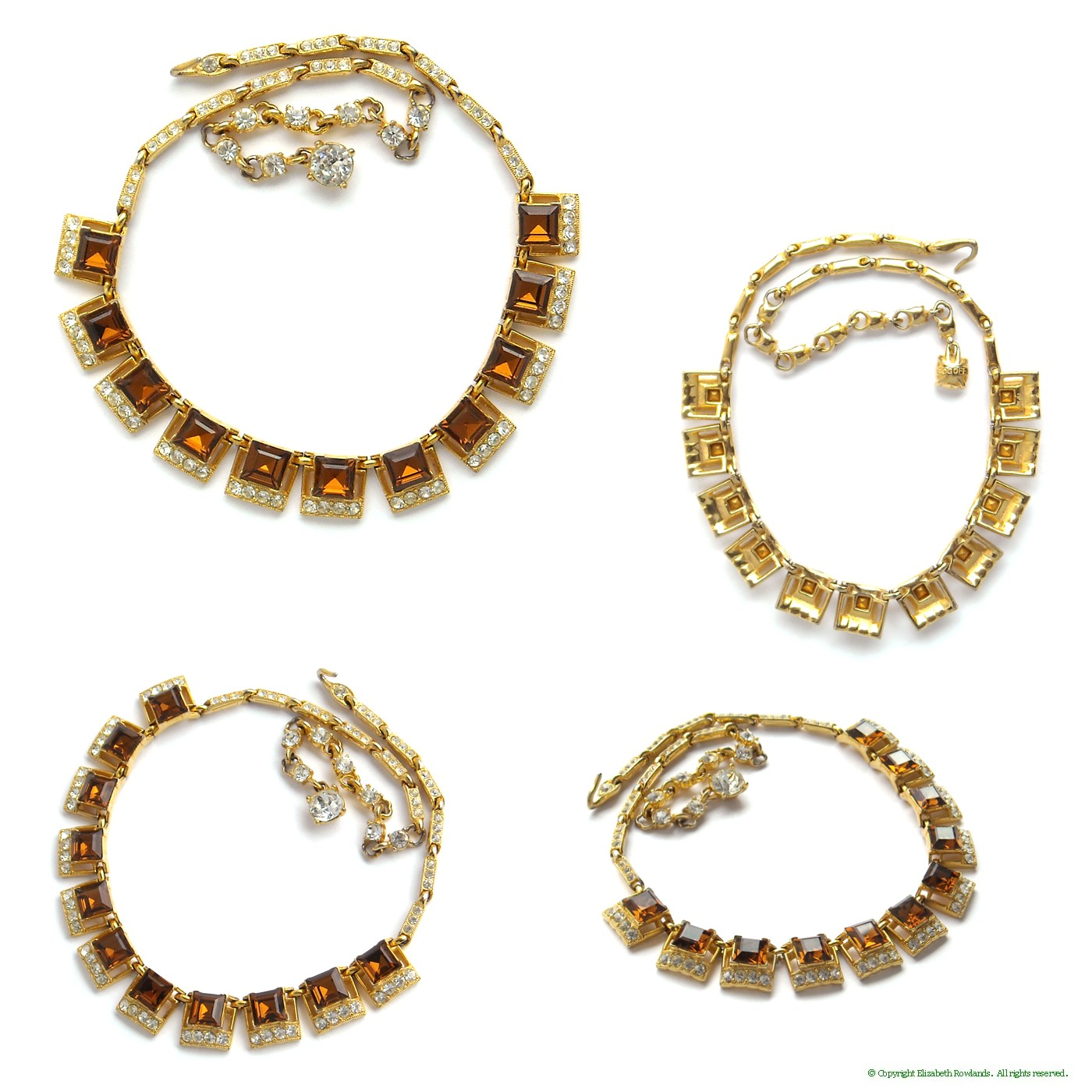 Sg240 for Bogoff vintage costume jewelry